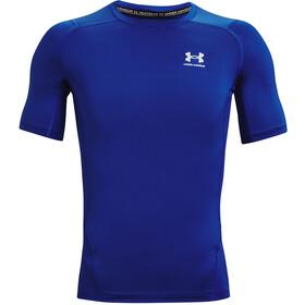 Under Armour HeatGear Armour Short Sleeve Shirt Men, blauw